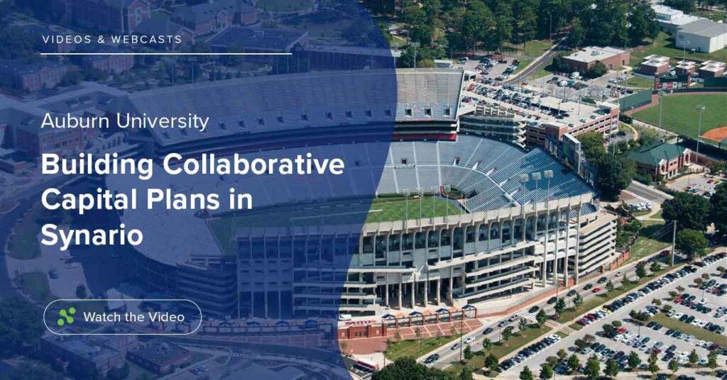 Auburn Builds Collaborative Capital Plans in Synario