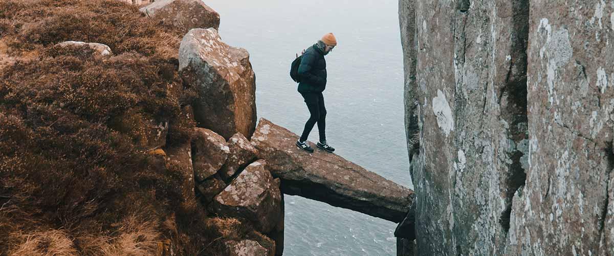 business risk analysis hiker