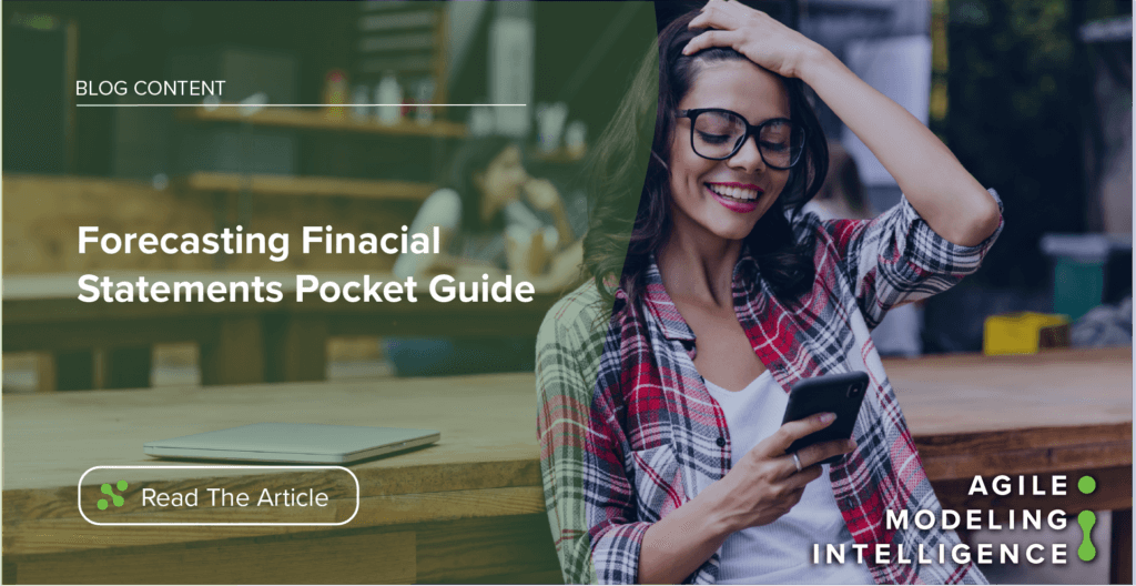 Your Handy Pocket Guide to Forecasting Financial Statements
