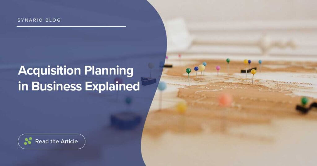 Acquisition Planning in Business Explained