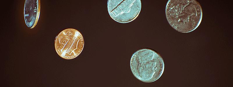 coin banner